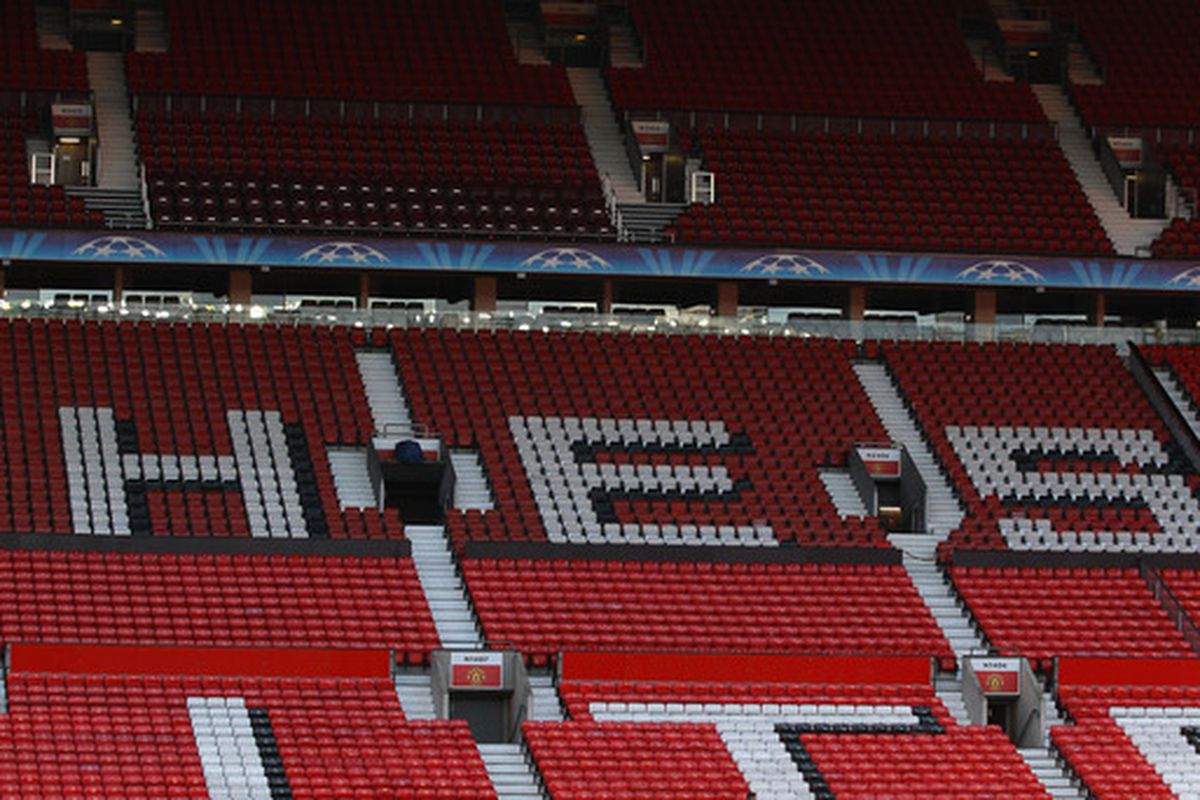 Manchester United is rated as the world's most valuable club according to Forbes.  (Photo by Alex Livesey/Getty Images)