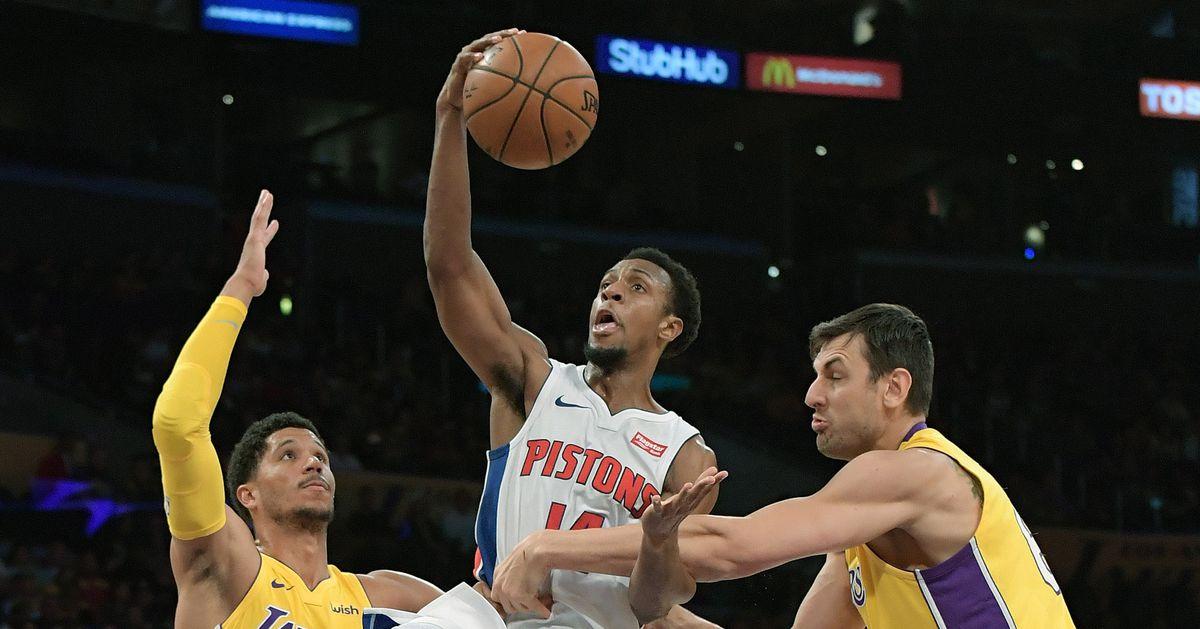 Pistons Vs Lakers: Pistons Vs. Lakers Final Score: Pistons Play Flat All