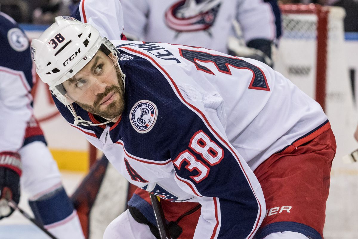 NHL: JAN 19 Blue Jackets at Rangers