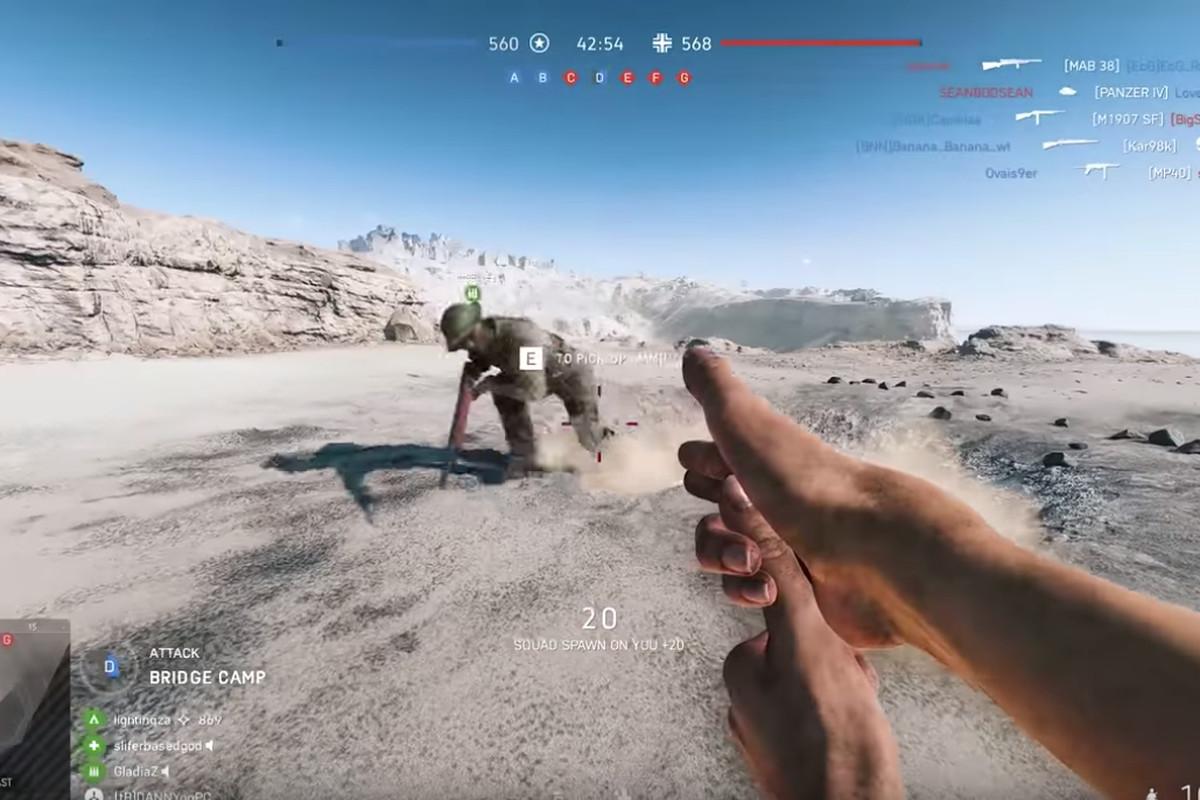 Battlefield 5's wacky Easter eggs: Finger guns and a
