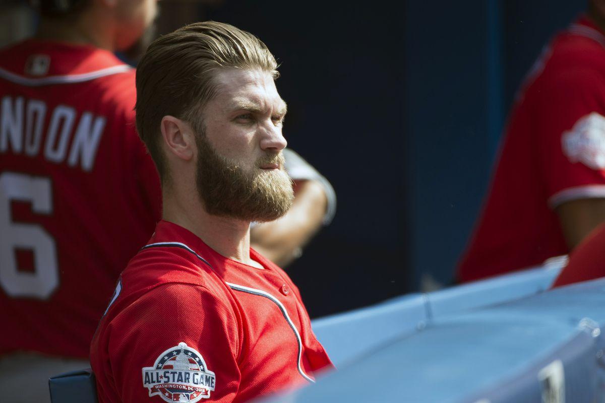 Bryce Harper Shaved His Beard Whyyyyyy Sbnation
