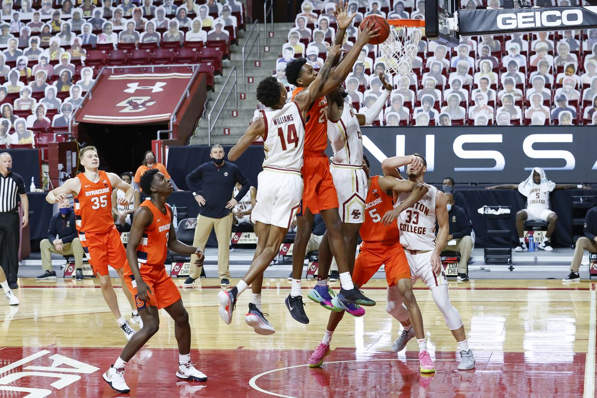 COLLEGE BASKETBALL: DEC 12 Syracuse at Boston College