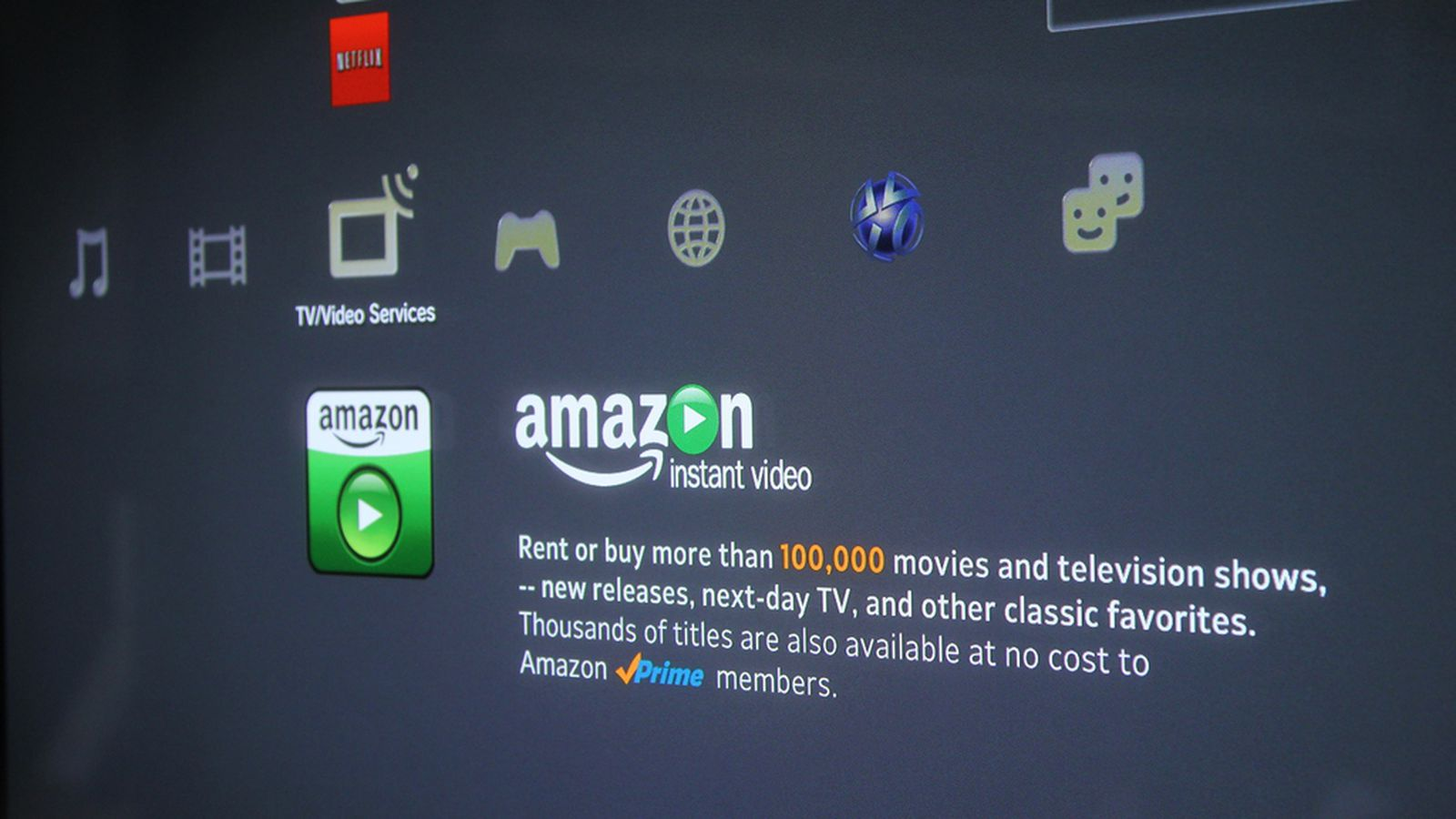 Sony ps3 gets amazon instant video app streams purchased - Home design shows on amazon prime ...