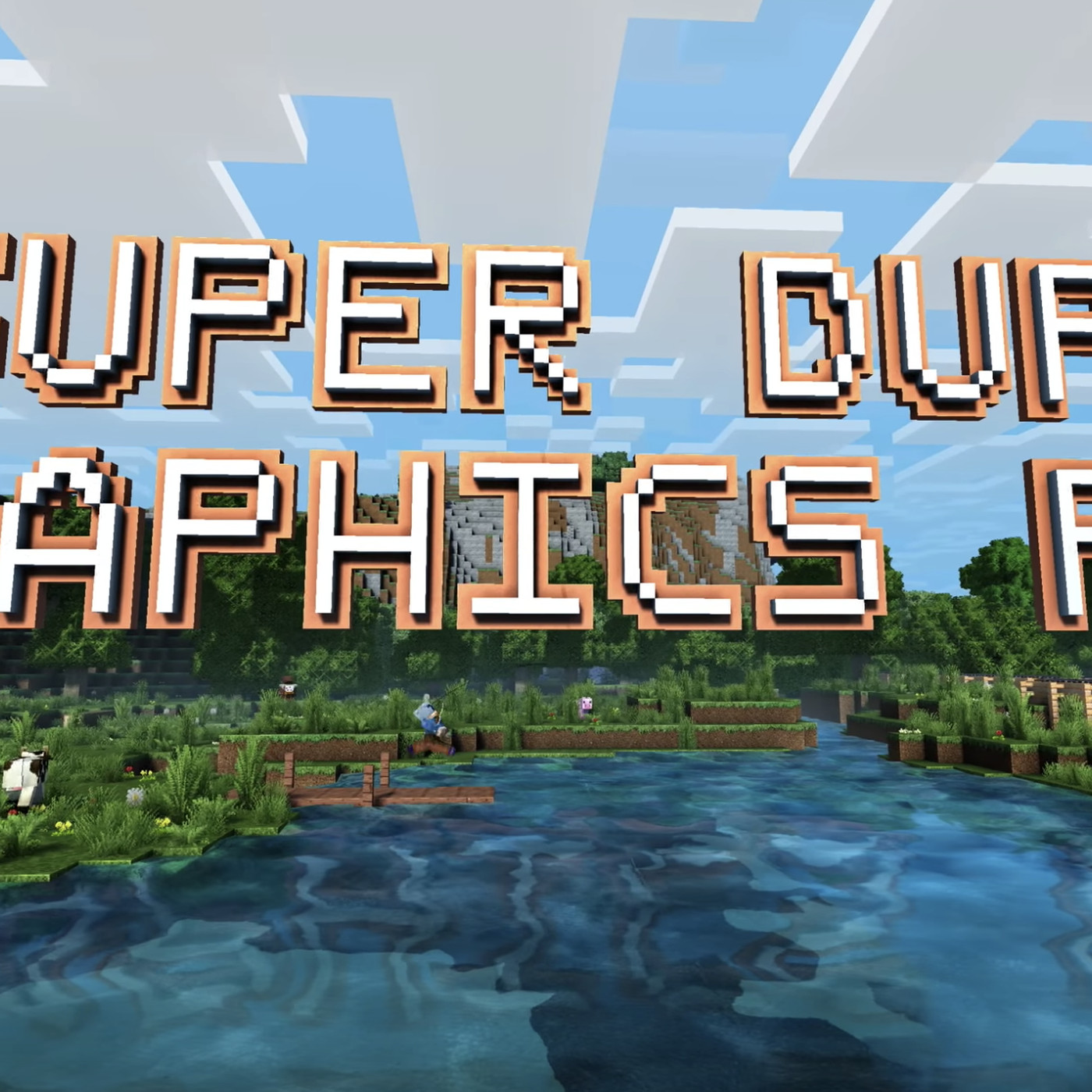 Minecraft's 'Super Duper Graphics Pack' is canceled due to