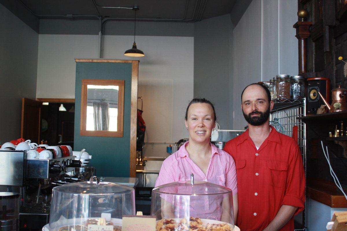 Caffe Delia's Delia MacFadden and Matt Weiner