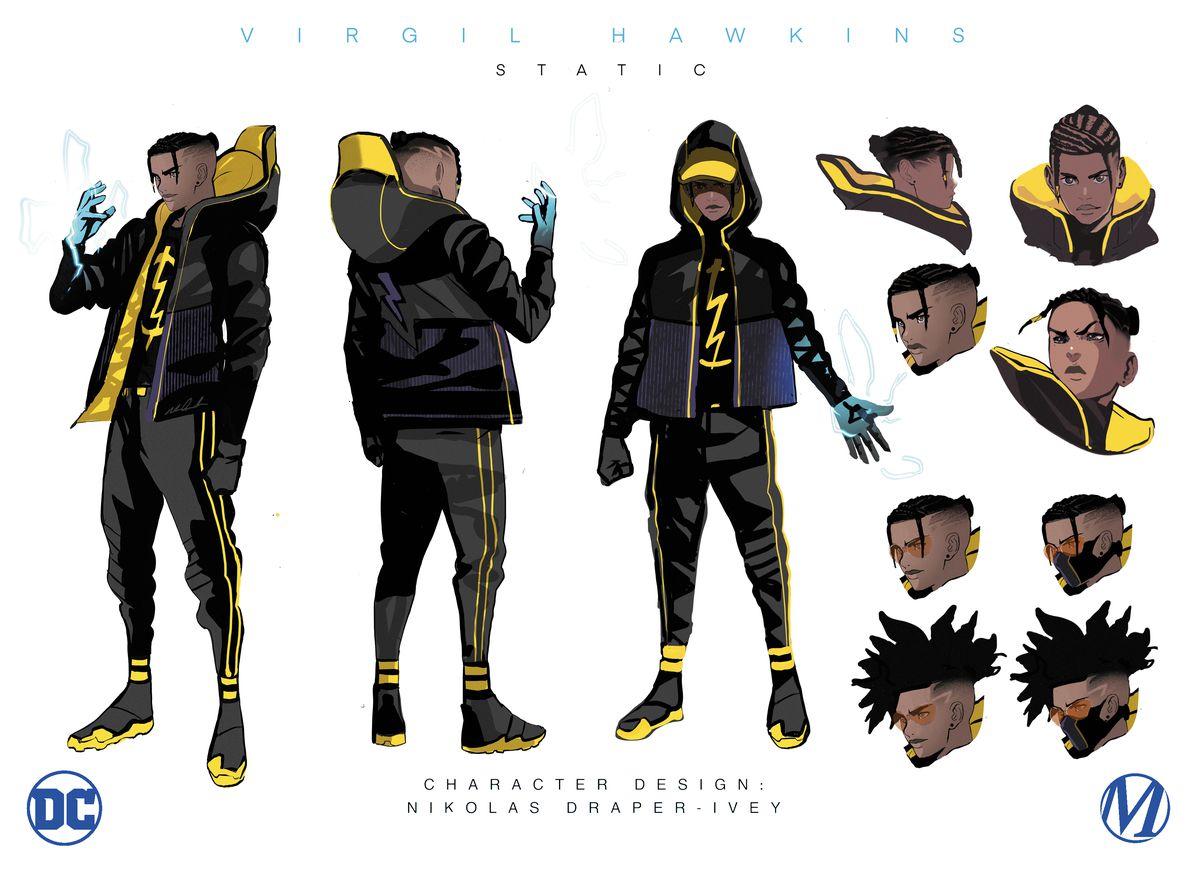 Static redesign for 2021 DC Comics Milestone relaunch