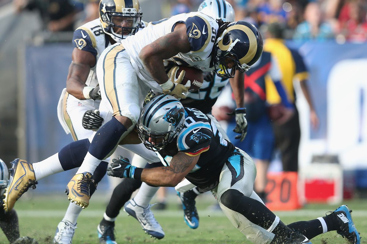 Todd Gurley is being held back by the rest of the Rams offense