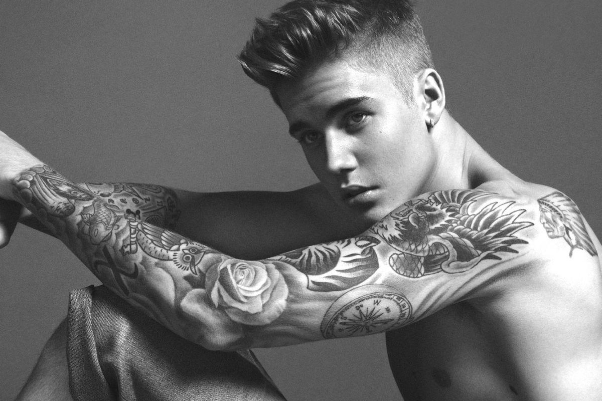 Justin Bieber Really Is A Calvin Klein Underwear Model