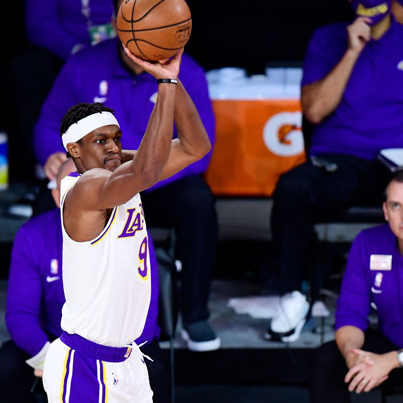 The Lakers have officially signed Rajon Rondo in free agency ...