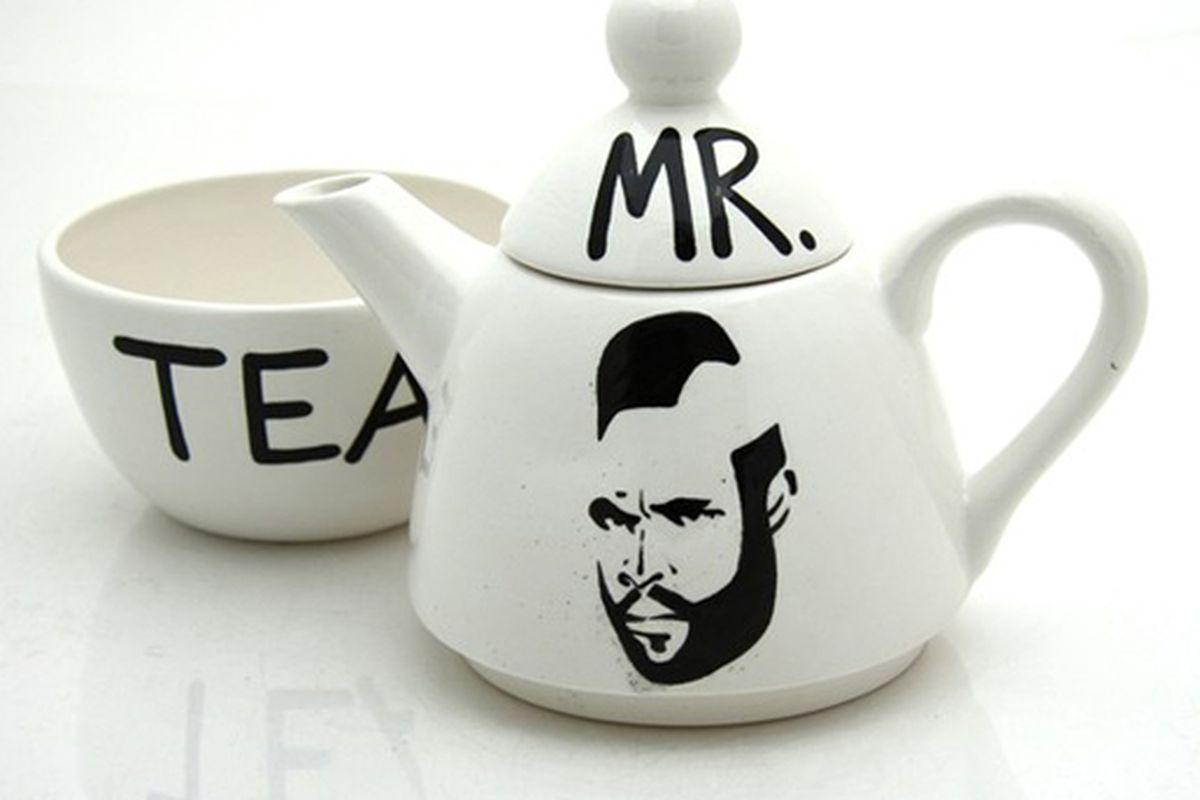 "Image via <a href=""http://www.etsy.com/listing/66359449/mr-t-tea-for-one-by-lennymud-on-etsy"">Lennymud</a>"