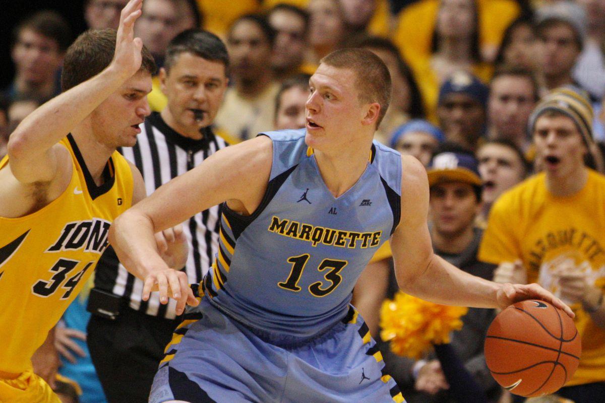 NCAA Basketball: Iowa at Marquette