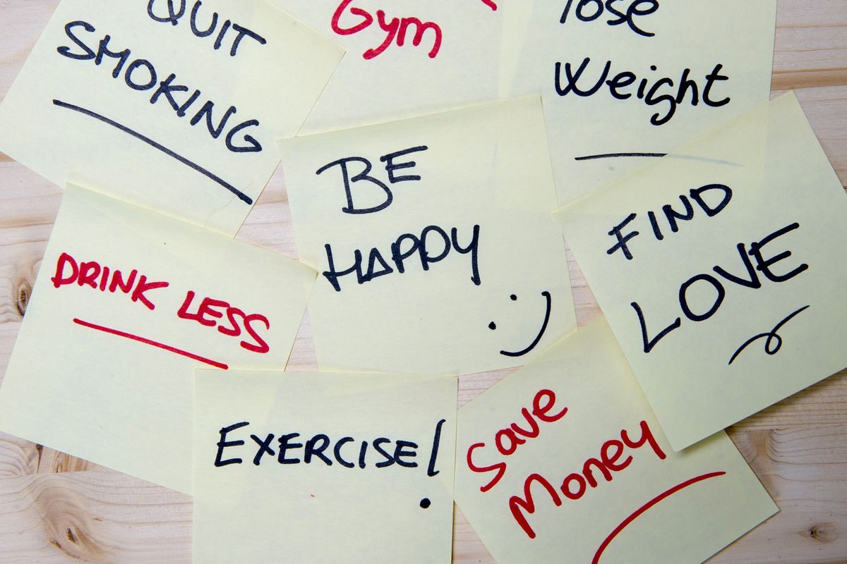The science of actually keeping your New Year's resolutions - Vox
