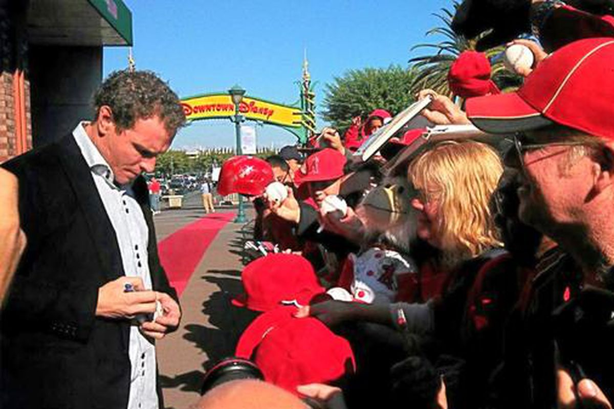 photo via the Los Angeles Angels Twitter