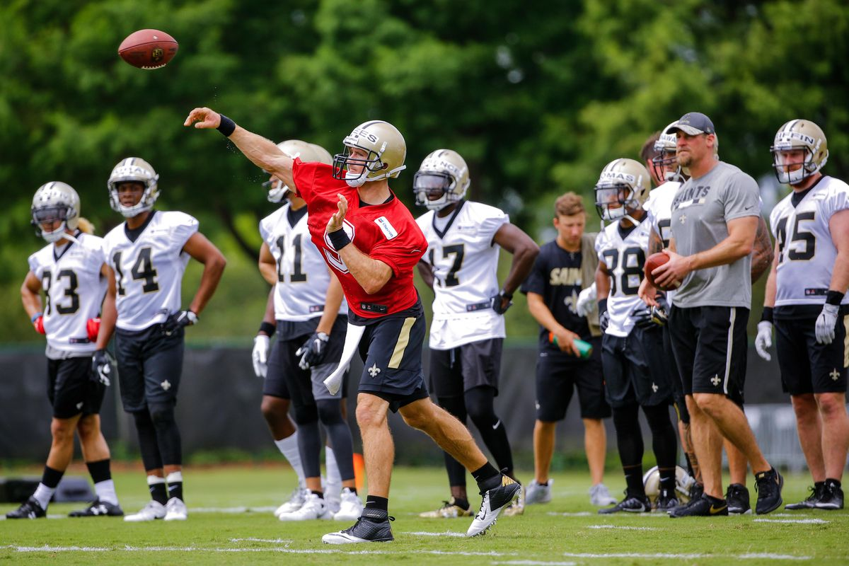 Image result for saints training camp