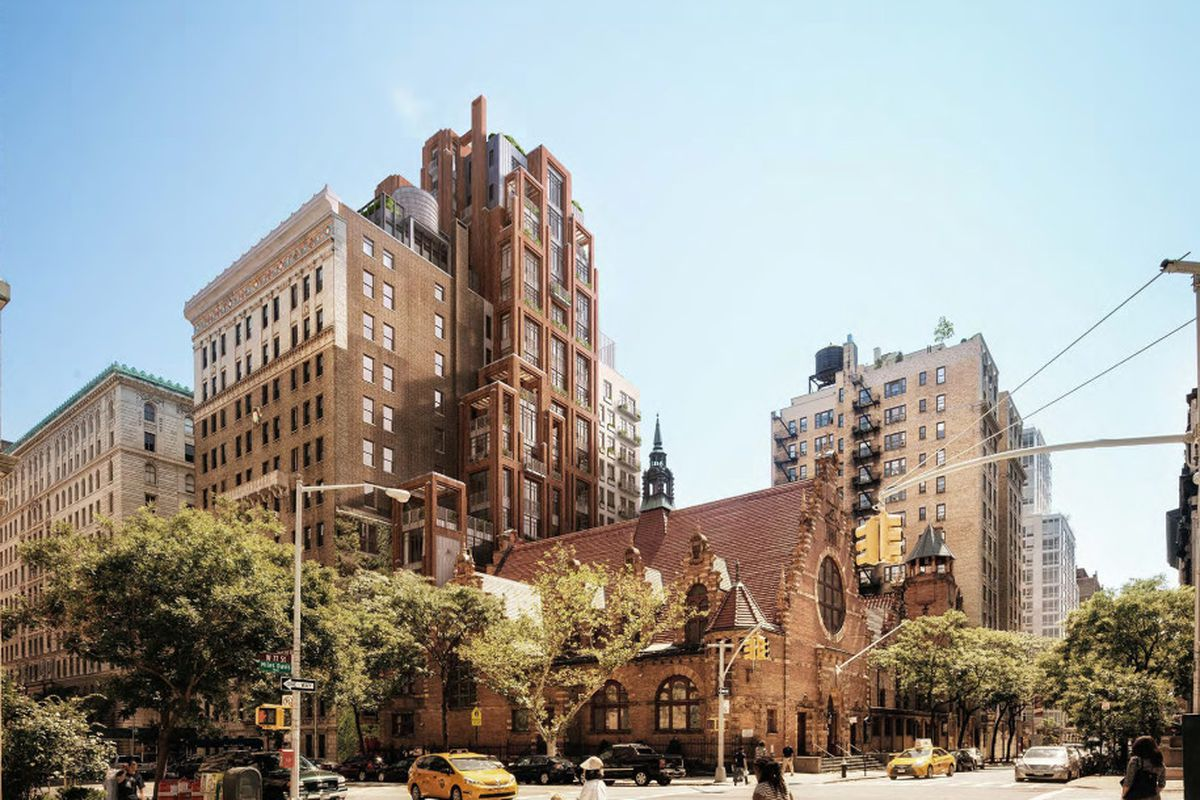 Historic Upper West Side school will become a 19-story condo - Curbed NY