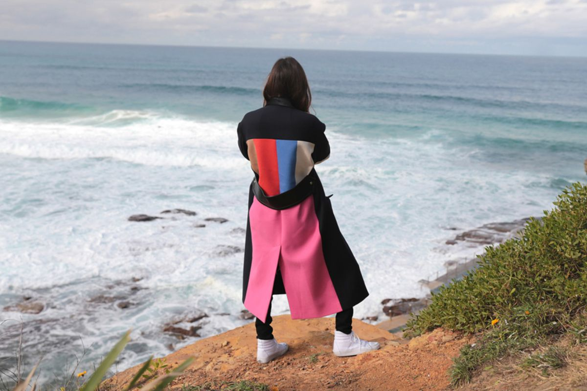 """Photo credit: James W. Mataitis Bailey and Jayne Min/<a href=""""http://www.vogue.com/vogue-daily/article/jayne-min-australia-summer-vacation/#1"""">Vogue</a>"""