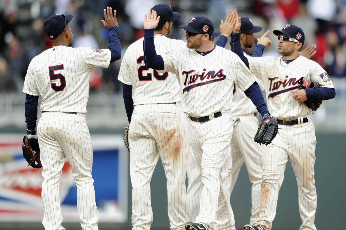 WE'RE GONNA WIN TWINS!