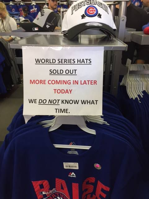sold out sign, not sideways!