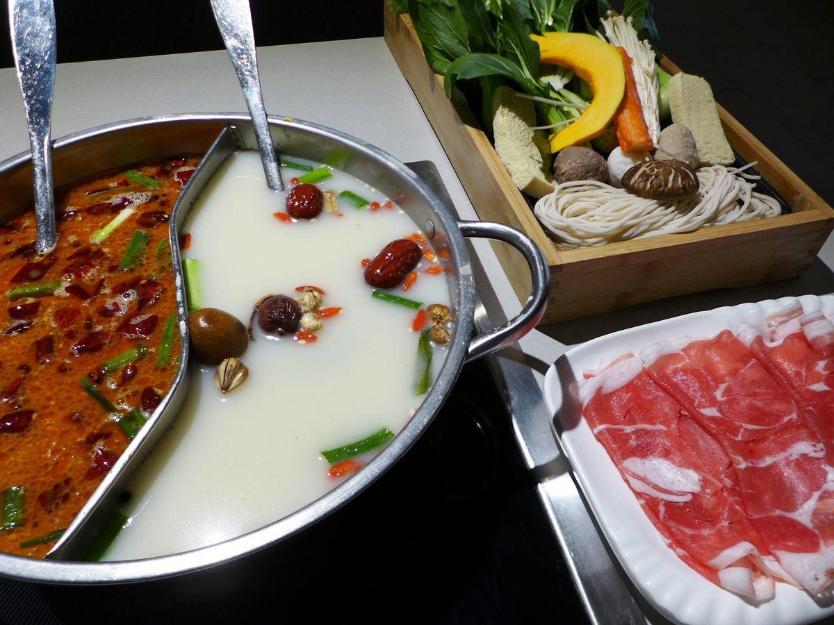 The afternoon hot pot special