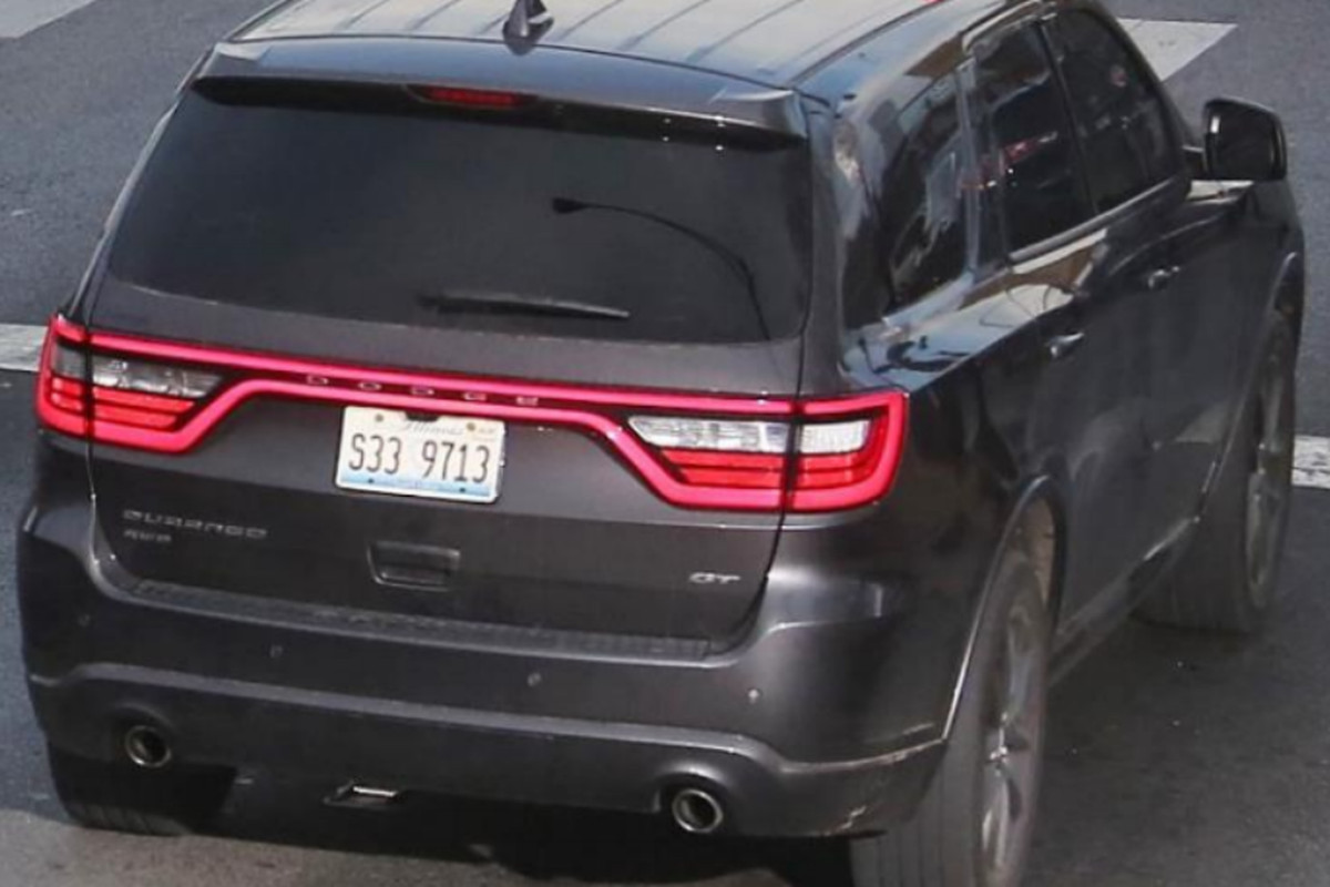This SUV is believed to be involved in a series of carjackings and thefts, the FBI said Feb. 26, 2021.