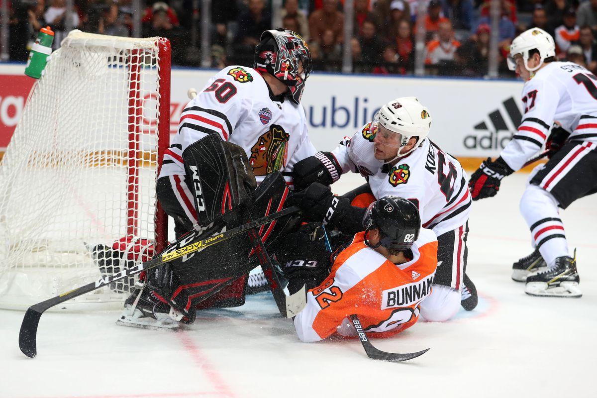 2019 NHL Global Series Challenge Prague - Chicago Blackhawks v Philadelphia Flyers