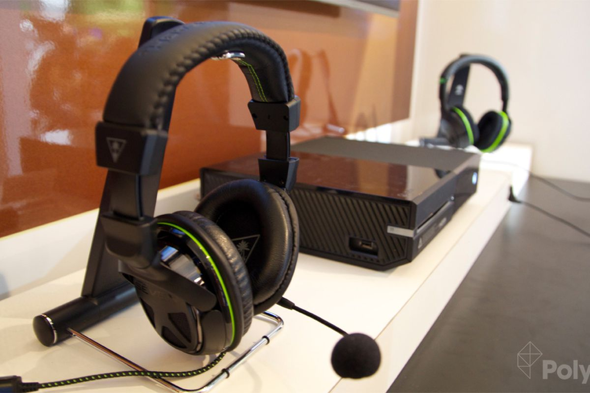 Turtle Beach unveils Xbox One headsets at CES, still waiting