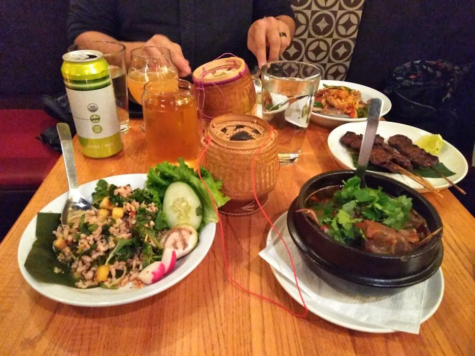 An Array Of Y Offerings At Thip Khao Warren Rojas Eater Dc