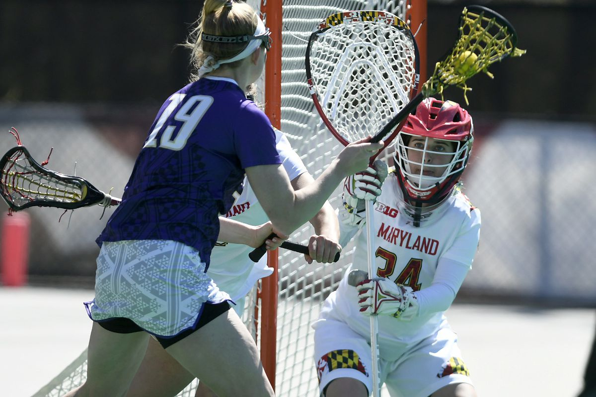 Maryland Goalie Megan Taylor Might Be The Biggest Washington Capitals Fan In Ncaa Women S Lacrosse College Crosse