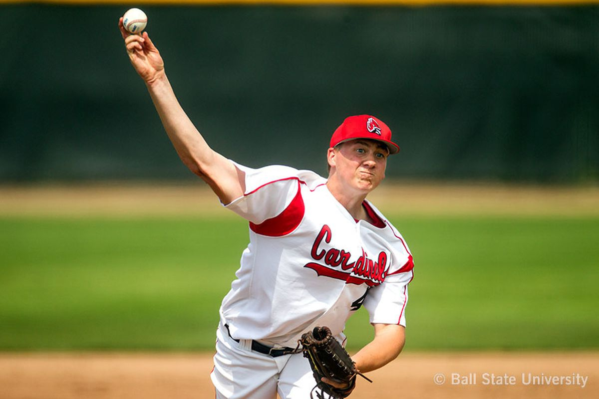 Scott Baker won the 2013 MAC Pitcher of the Year as a sophomore.