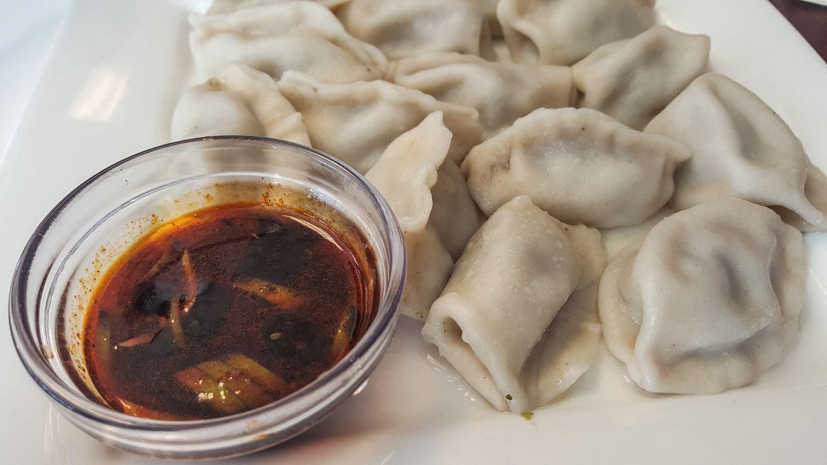 Dumplings at Silk Road