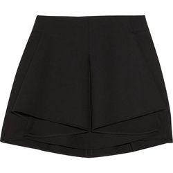 "<a href=""http://www.theoutnet.com/product/172255"">Antonio Berardi Pleated wool-blend mini skirt</a>, $145.50 (was $970)"