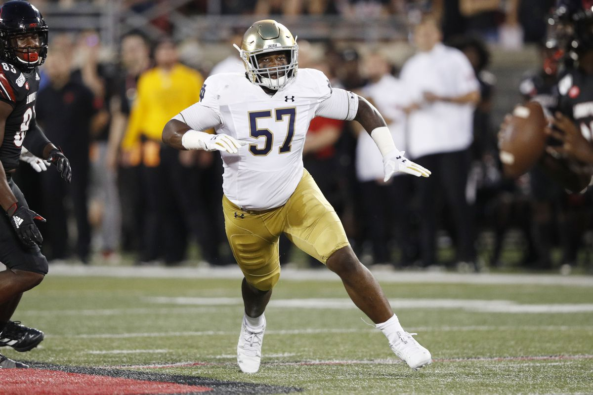 Notre Dame Football Depth Chart For Virginia Cavaliers
