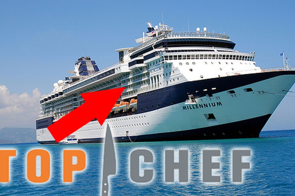 Was Top Chef On An Alaska Bound Celebrity Cruise Ship Eater