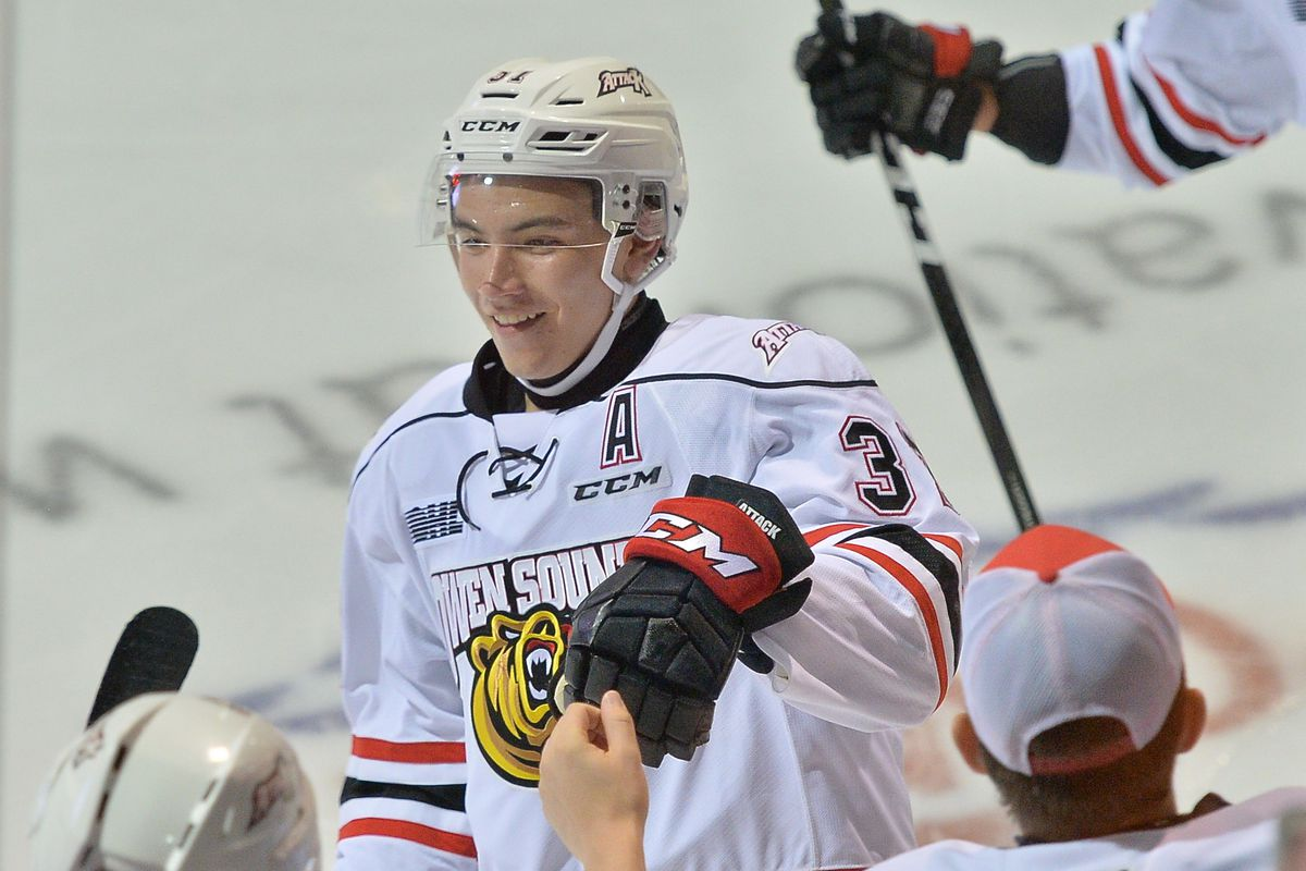 97bd339b41e Catching The Torch  Nick Suzuki records a natural hat trick in second game  back