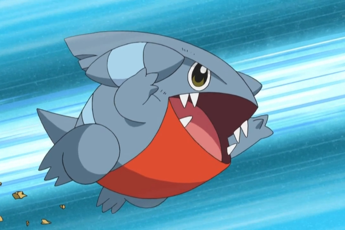 Gible from the Pokemon animated series