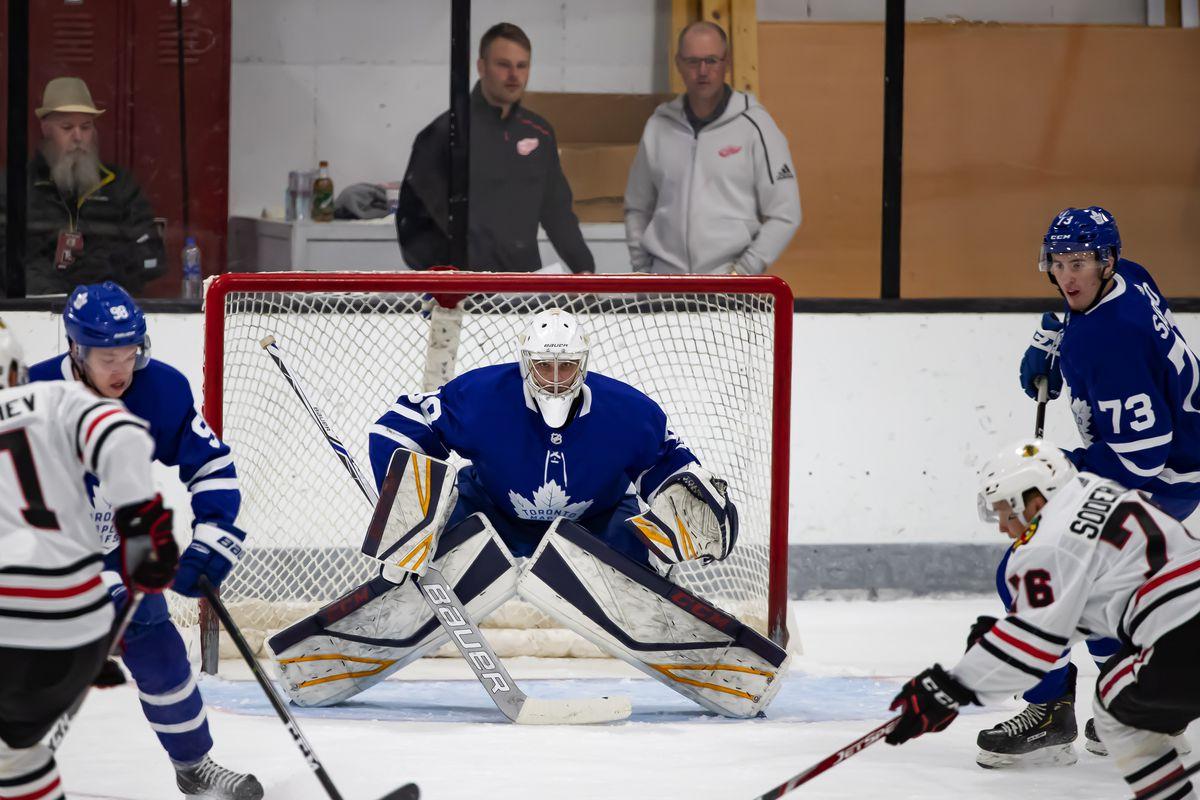 NHL Prospects Tournament Day-2 Toronto vs Chicago