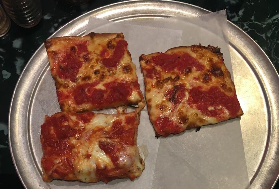 Umberto's Sicilian slice