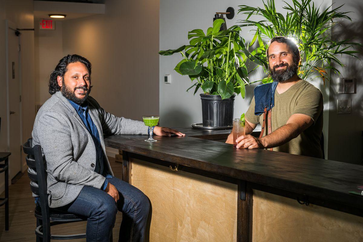 Daru co-owner Dante Datta and bar manager Tom Martinez