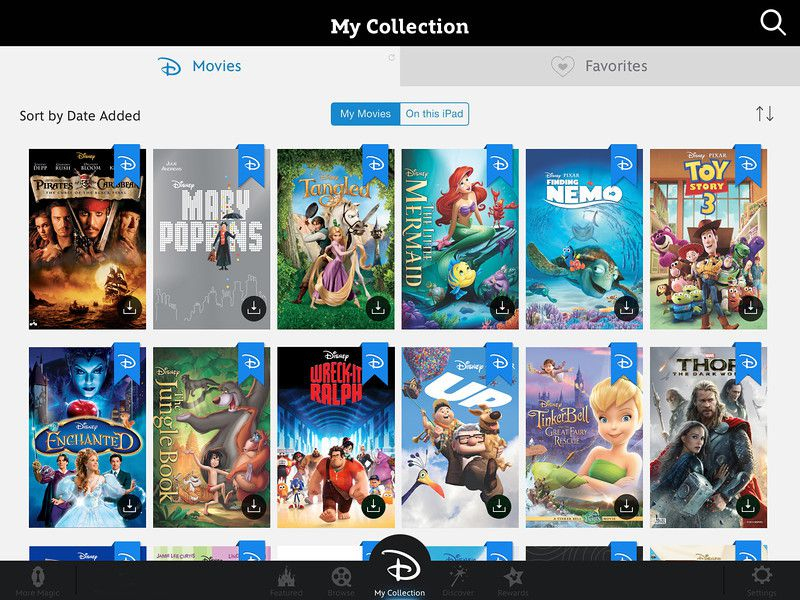 Disney's Cloud Movie Service Is Just Like the Other Cloud Movie