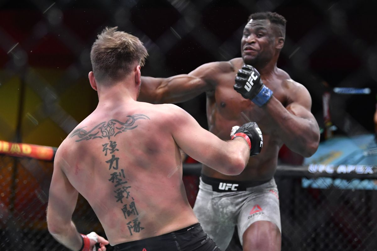 UFC 260: Miocic v Ngannou