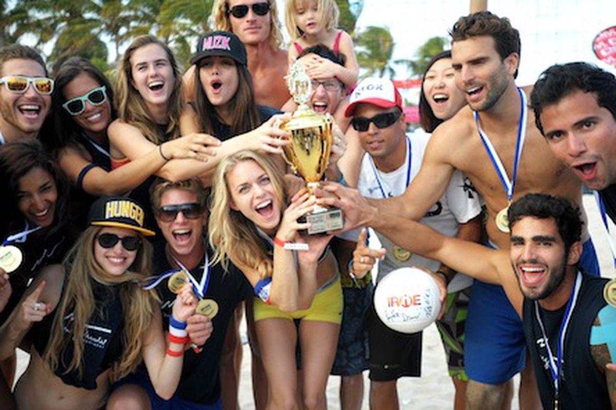 Image Via Model Beach Volleyball Tournament