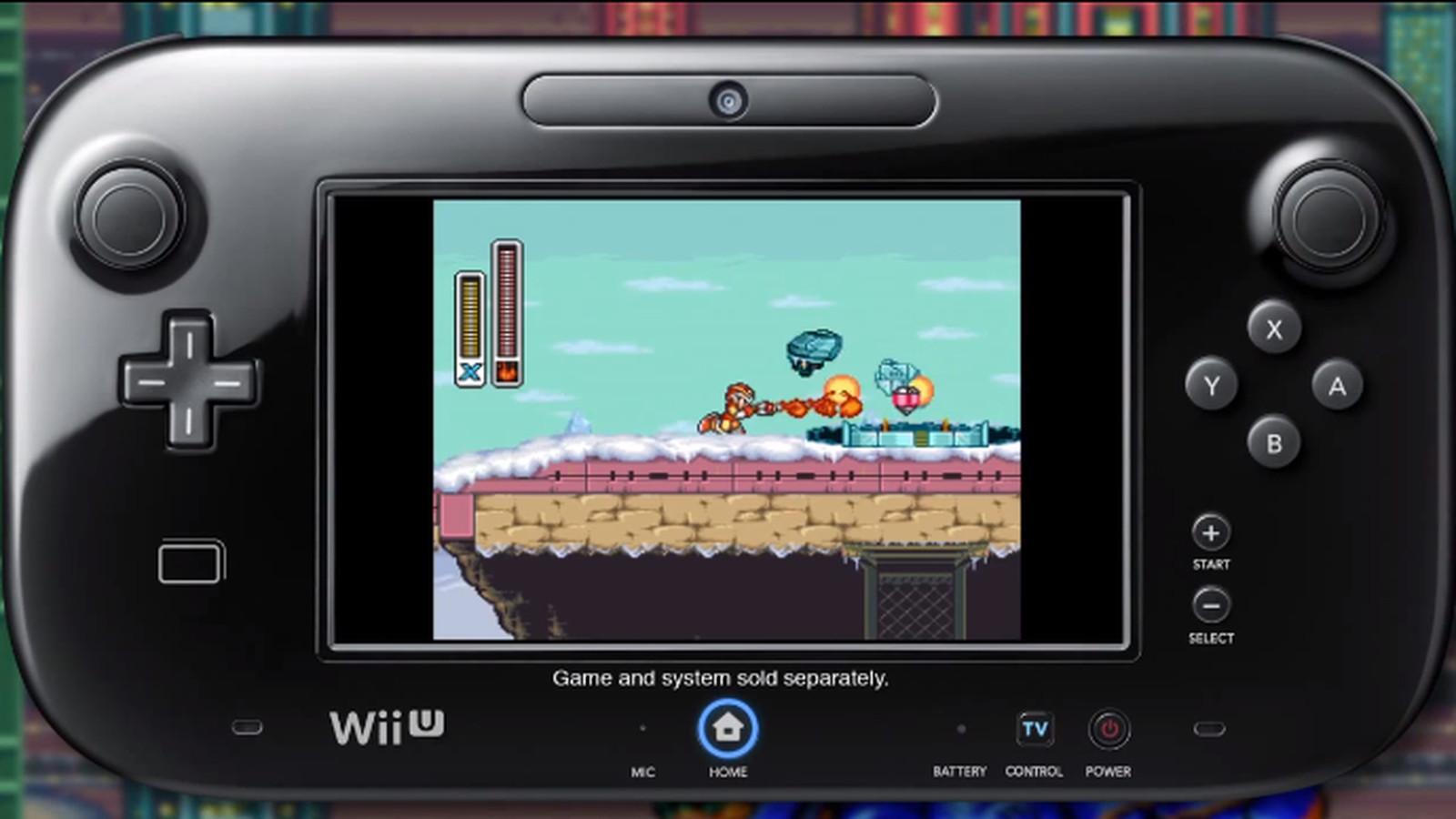 Mega man x launching for wii u virtual console may 30 polygon - Megaman x virtual console ...