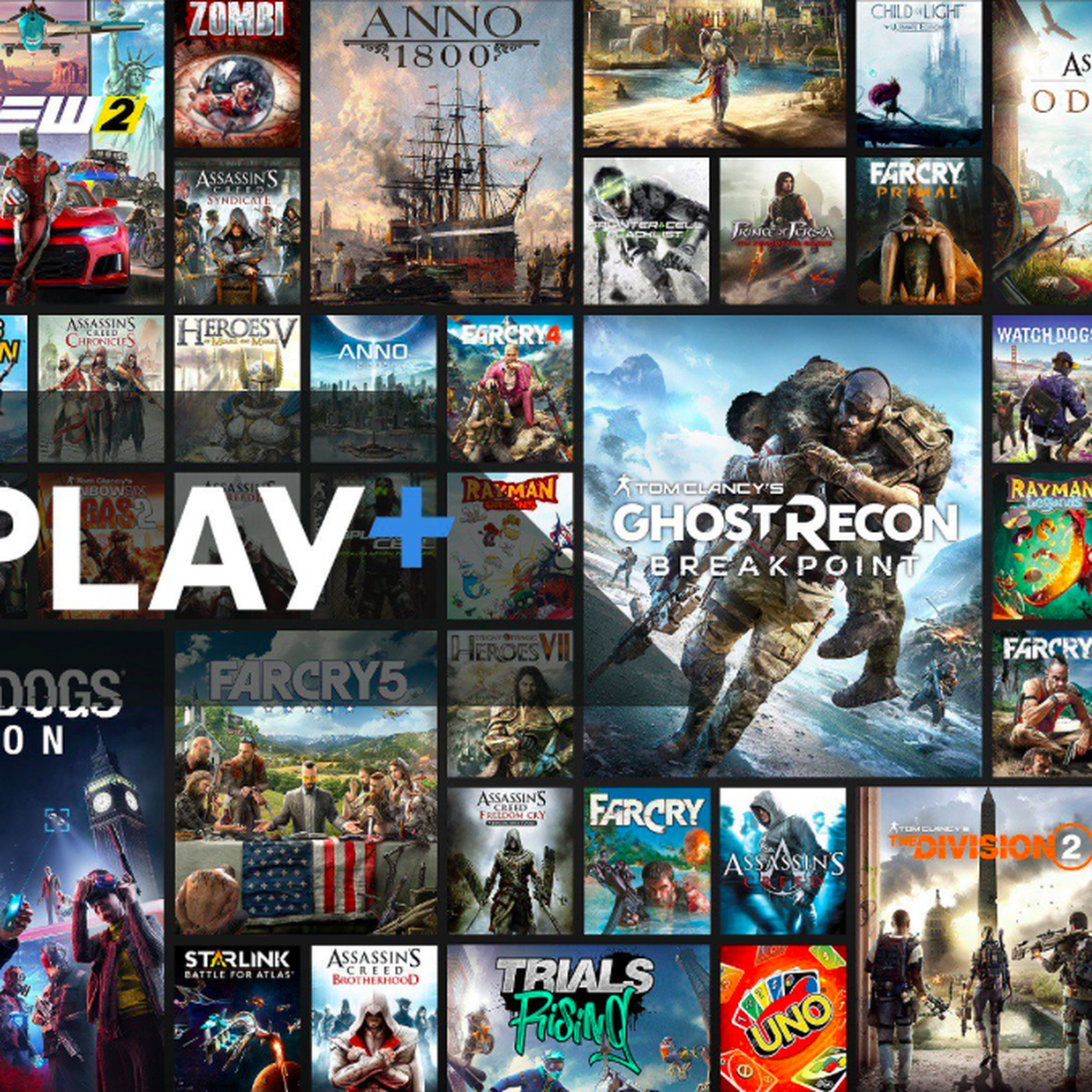Ubisoft Announces Uplay Plus Game Subscription Service Polygon