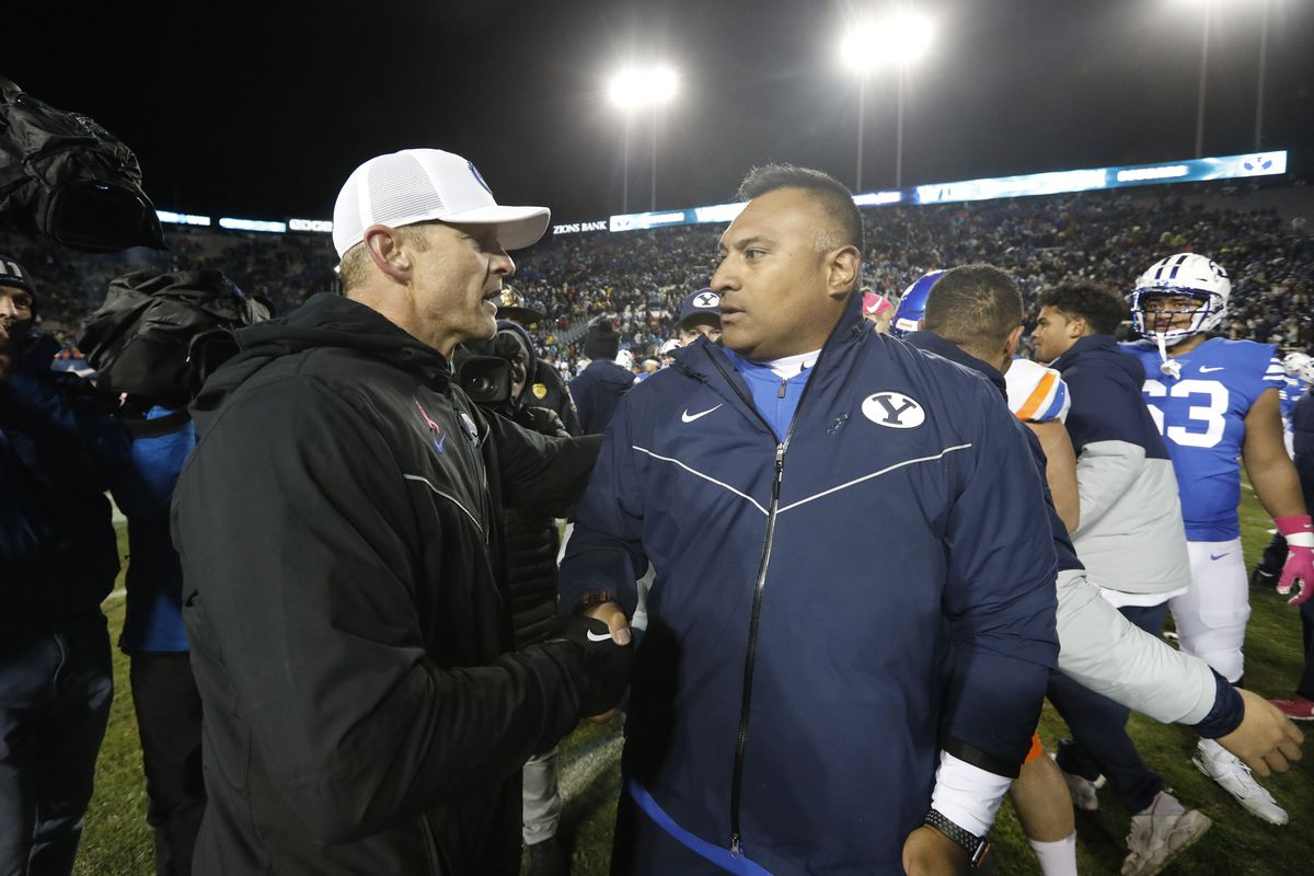 NCAA Football: Boise State at Brigham Young