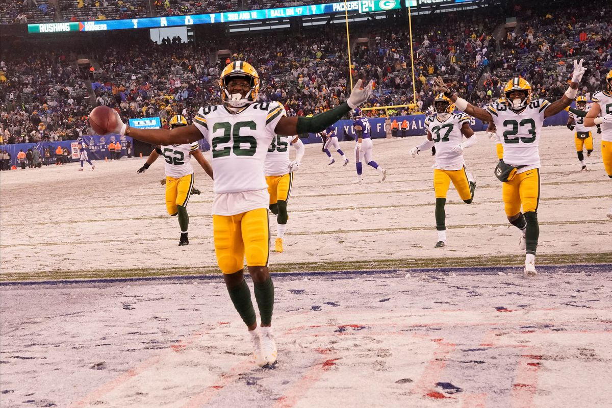 NFL: Green Bay Packers at New York Giants