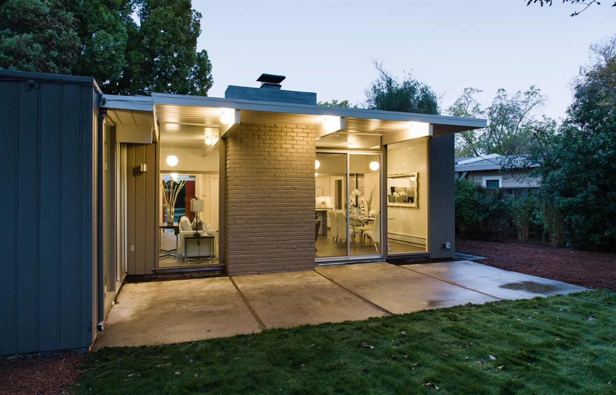Renovated Silicon Valley Eichler Asks 2 2 Million Curbed Sf