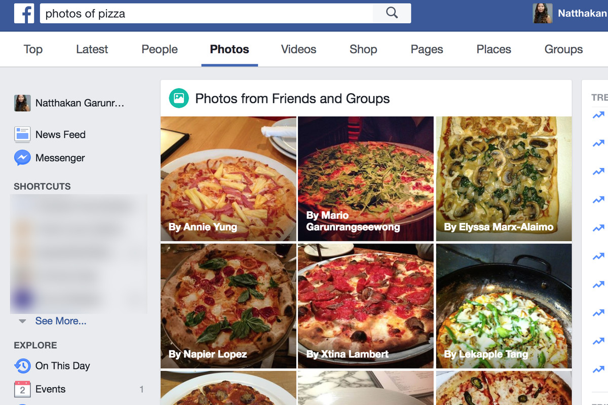 Facebooks ai now lets you search for photos by their content the facebook is updating its search feature today with the help of its computer vision platform now you can search for photos on facebook using any keyword forumfinder Choice Image