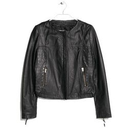 "<b>Mango</b>, <a href=""http://shop.mango.com/US/p0/women/clothing/jackets/leather-bomber-jacket/?id=33080420_02&n=1&s=prendas.chaquetas&ident=0__0_1412275196699&ts=1412275196699"">$190</a>"