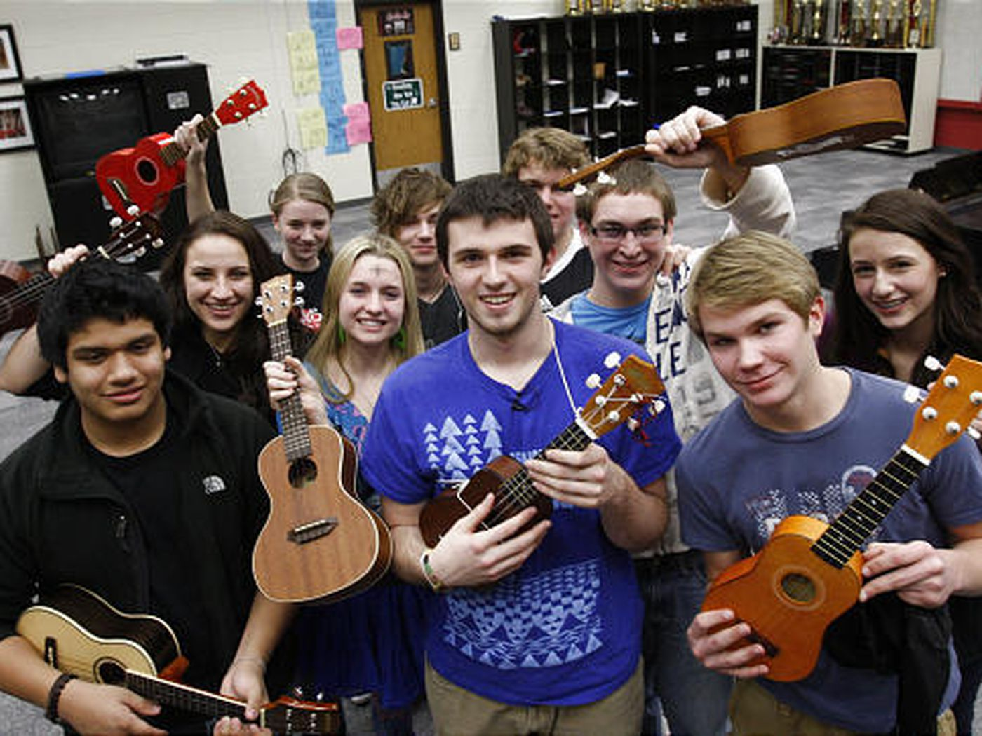 The Absurd Happiness Of Ukuleles Deseret News