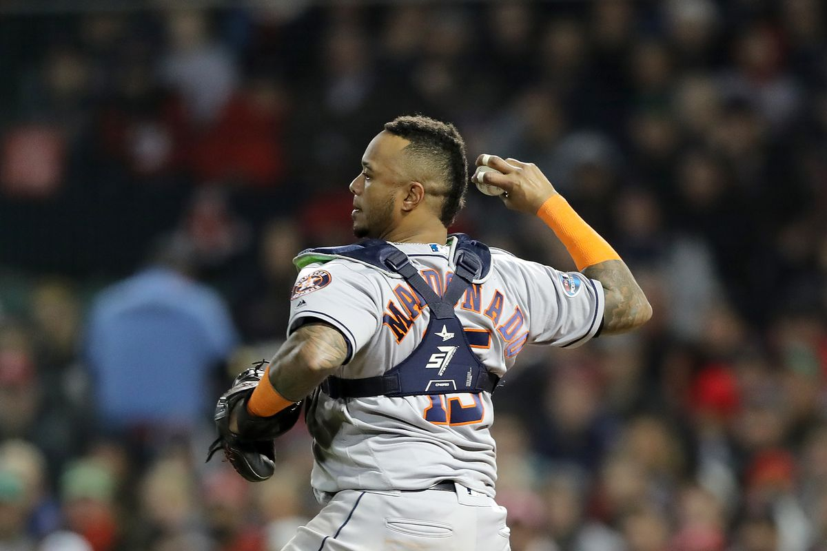 League Championship Series - Houston Astros v Boston Red Sox - Game Two
